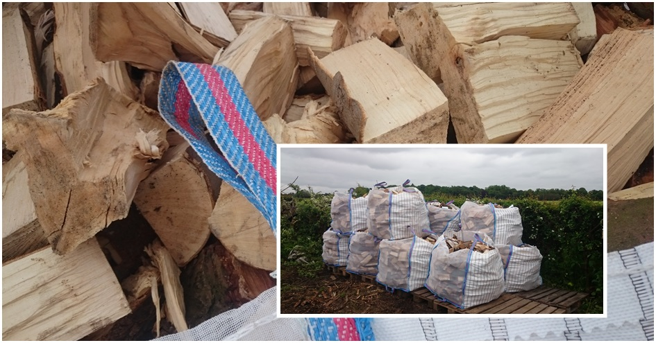 Logs for sale Warrington, by Holly Oak Tree Services